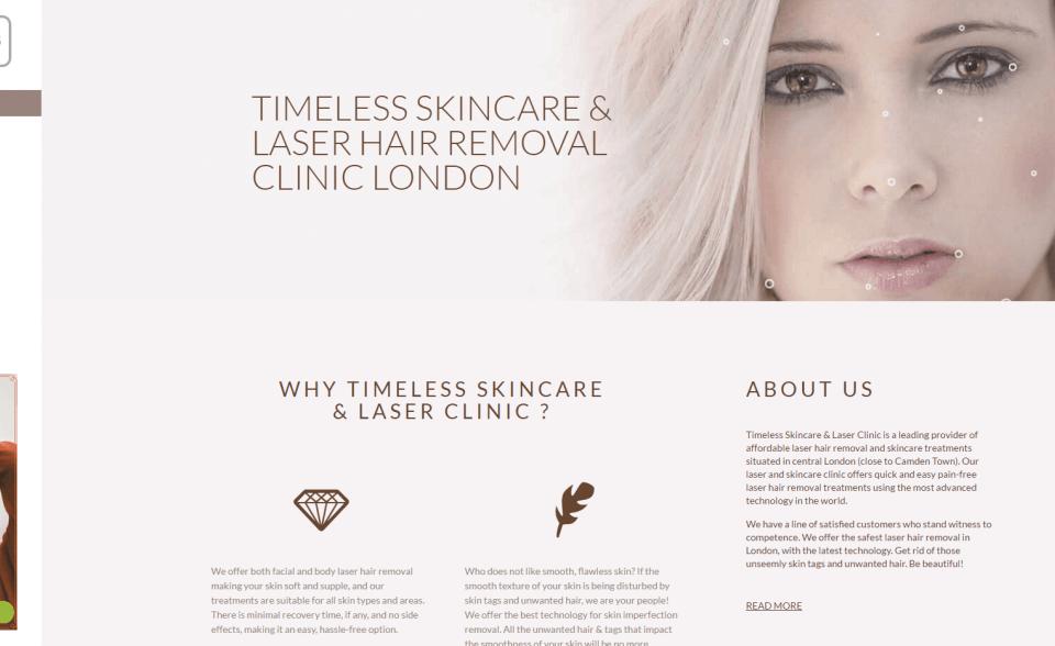 Timeless Skincare Laser Clinic London